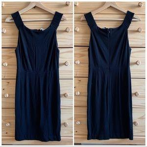 Joie Black Pencil Thick Strap Sheath Dress S